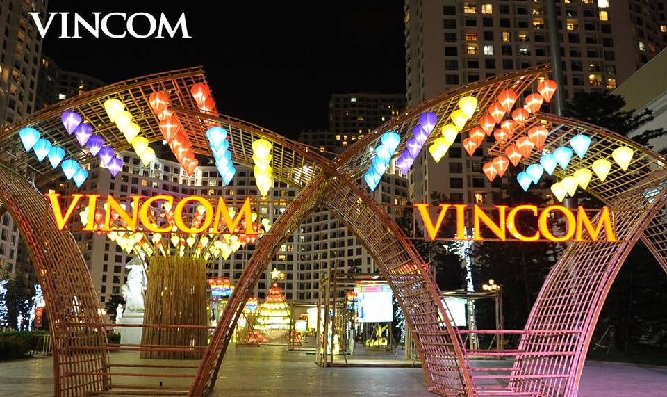 Vincom shopping mall system of Vingroup jubilantly welcomed Mid-Autumn Festival