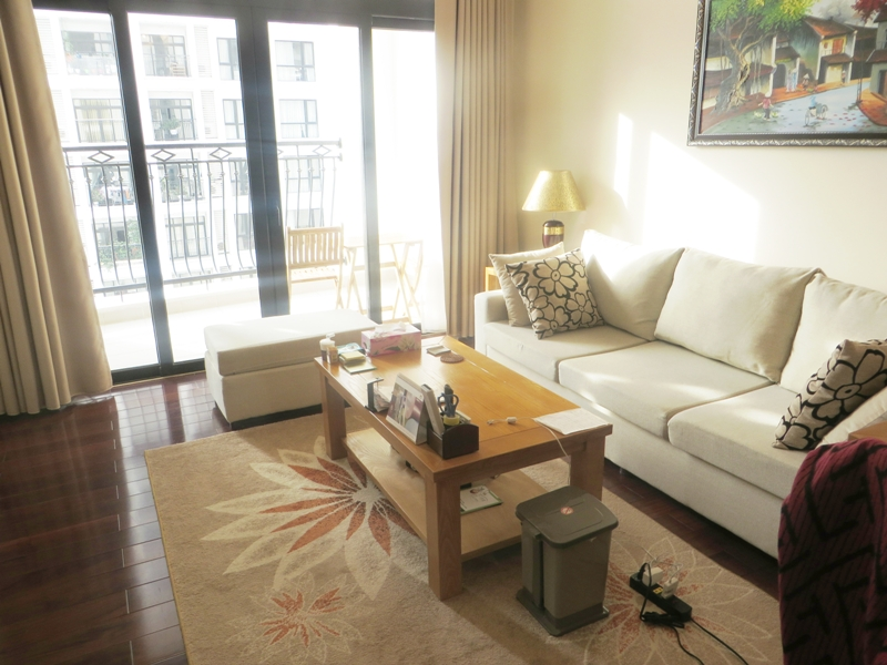 Apartment with 3 bright bedrooms rental in Vinhomes Royal City, Thanh Xuan district, Hanoi
