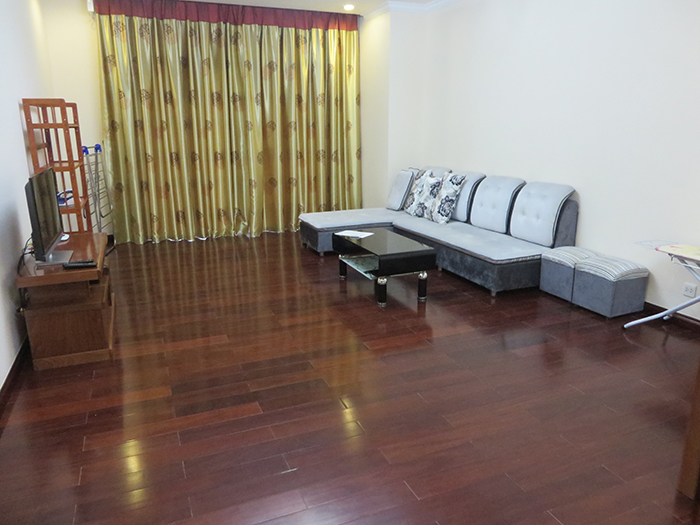 Fully-furnished two bedroom apartment for rent in R1 Royal City with lovely view to City