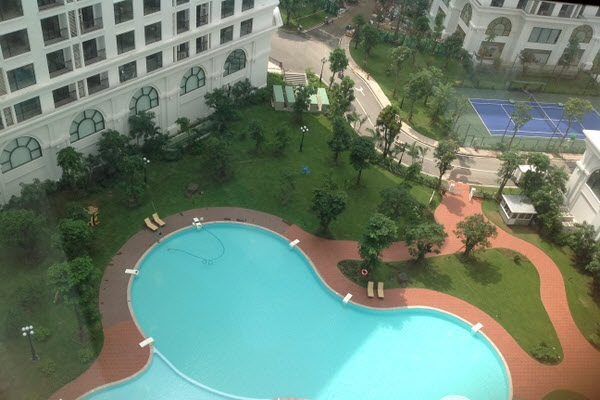 Swimming Pool in R1 Building