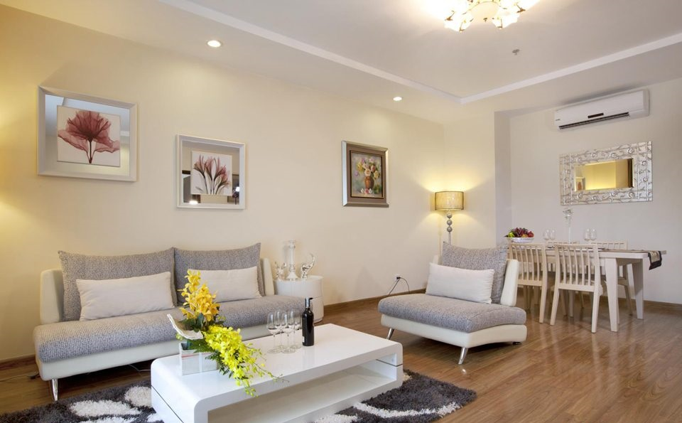 Living room in Vinhomes Royal City